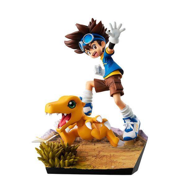 Taichi Yagami & Agumon 20th Anniversary Figure Digimon Adventure G.E.M.