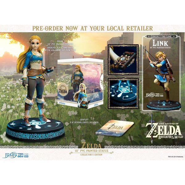 Zelda Collector's Edition The Legend of Zelda Breath of the Wild