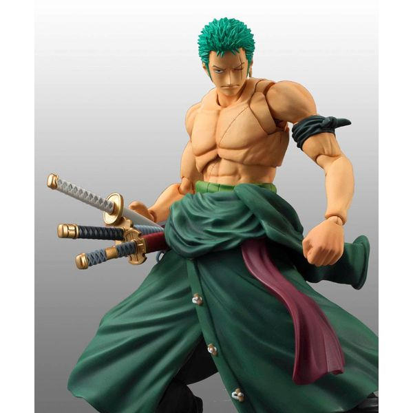 Figura Roronoa Zoro Renewal Edition One Piece Action Heroes