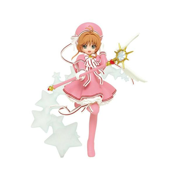 Sakura in Pink Figure Cardcaptor Sakura Clear Card