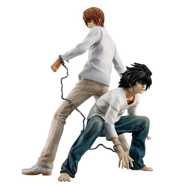 Figura Yagami Light & L Death Note G.E.M.