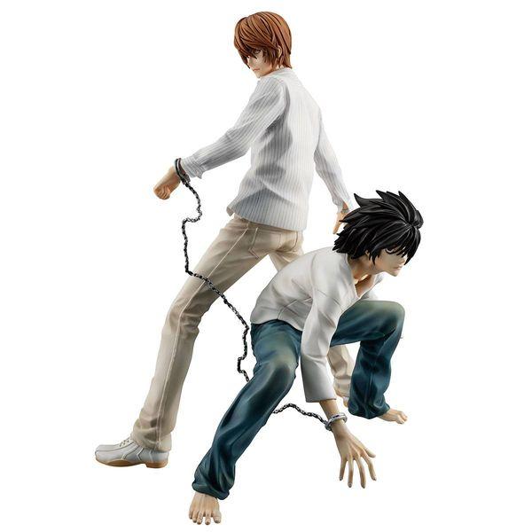 Figura Yagami Light & L Death Note G.E.M.