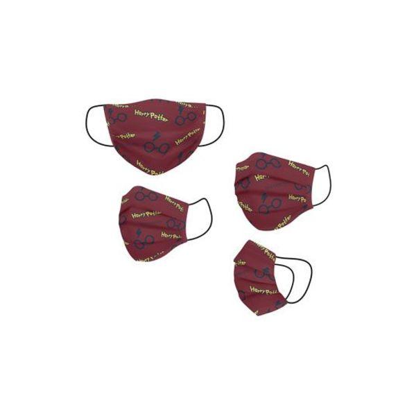 Mascarilla de tela Gafas Harry Potter