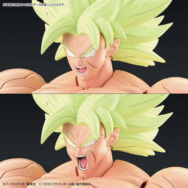 Model Kit Broly SSJ Full Power Dragon Ball Super Figure Rise
