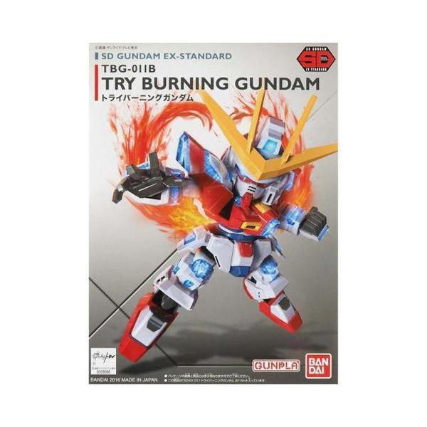 Model Kit Try Burning Gundam SD EX-Standard 011 Gundam