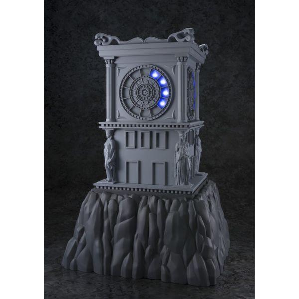 Myth Cloth Torre Reloj Fuego Santuario con luz Saint Seiya