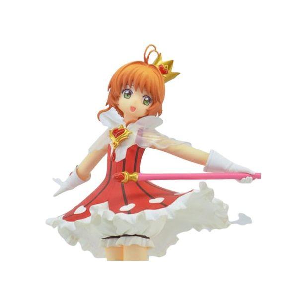 Figure Sakura Kinomoto Red Heart Card Captor Sakura Clear Card