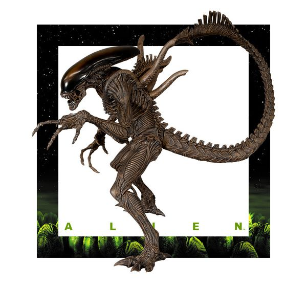 Figura Alien Warrior Brown Alien Resurection