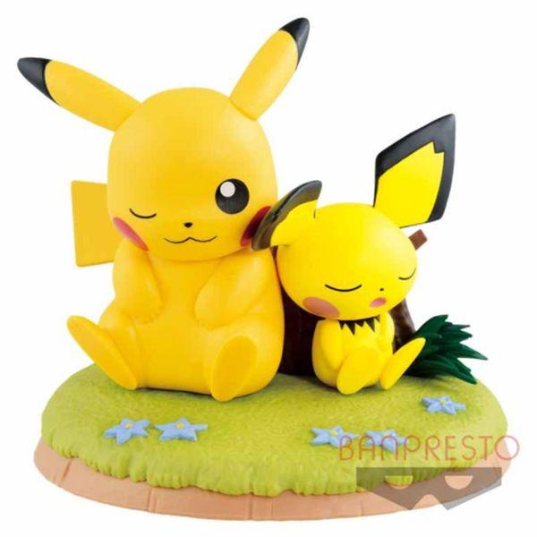 Figura Pikachu & Pichu Pokemon Relax