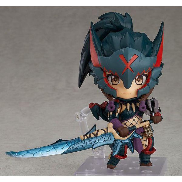 Nendoroid 1284 DX Hunter Female Nargacuga Alpha Armor DX Monster Hunter World Iceborne