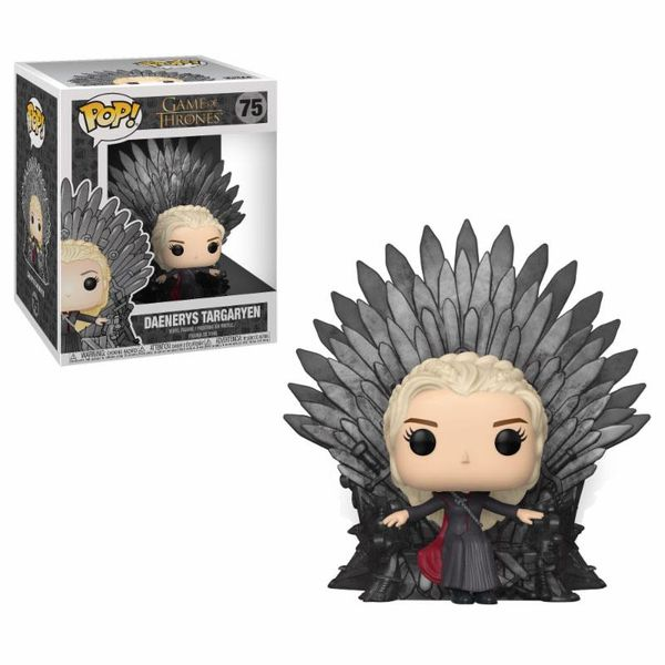 Funko Daenerys on Iron Throne Juego De Tronos POP!