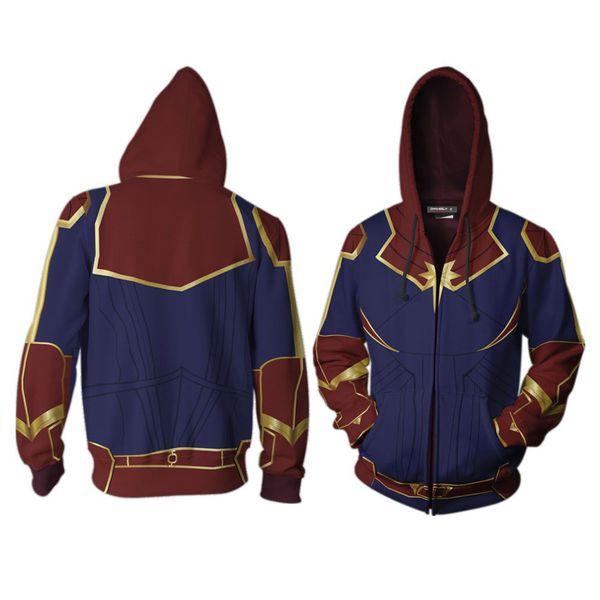Chaqueta Captain Marvel Marvel Comics