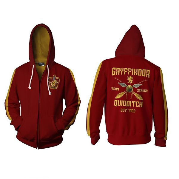 Chaqueta Gryffindor Quidditch Harry Potter