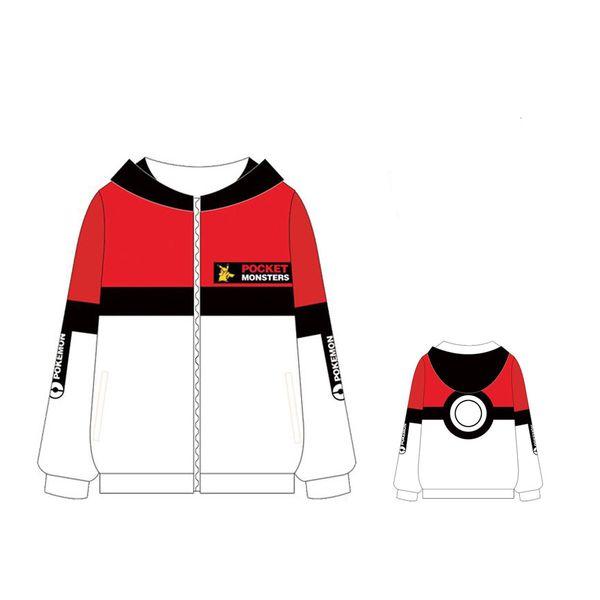 Chaqueta Pokeball Pokemon