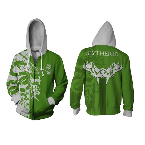 Slytherin Hoodie Harry Potter