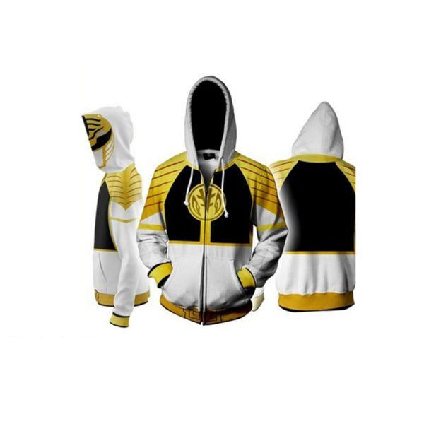 Chaqueta White Ranger Power Rangers