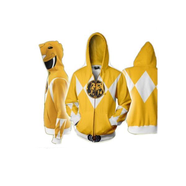 Chaqueta Yellow Ranger Power Rangers