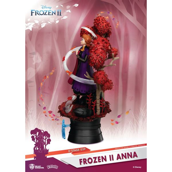 Figura Anna Frozen 2 Disney D-Stage