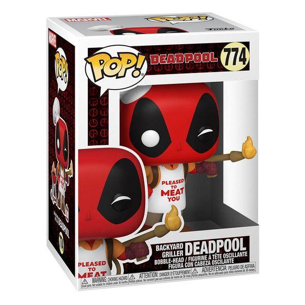 Funko Backyard Griller Deadpool 30th Anniversary Marvel Comics POP! 774