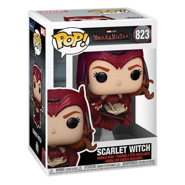 Scarlet Witch WandaVision Funko Marvel Comics POP! 823