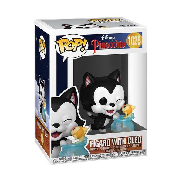 Funko Figaro Kissing Cleo Pinocchio 80th Anniversary Disney POP 1025