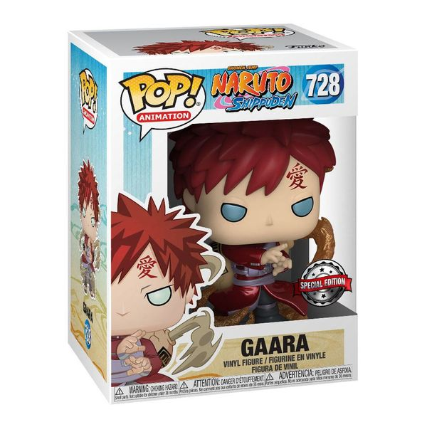 Funko Gaara Metallic Naruto Shippuden POP! Animation 728