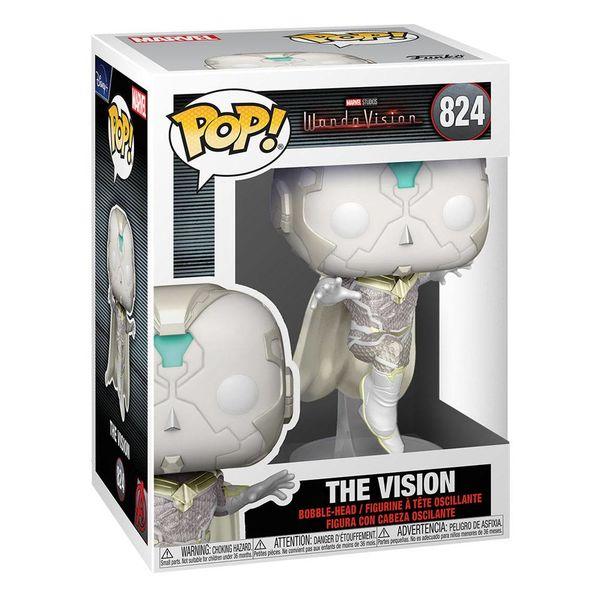 Funko The Vision WandaVision La Bruja Escarlata y Vision Marvel Comics POP! 824