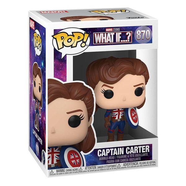Captain Carter Funko What If Marvel POP! 870