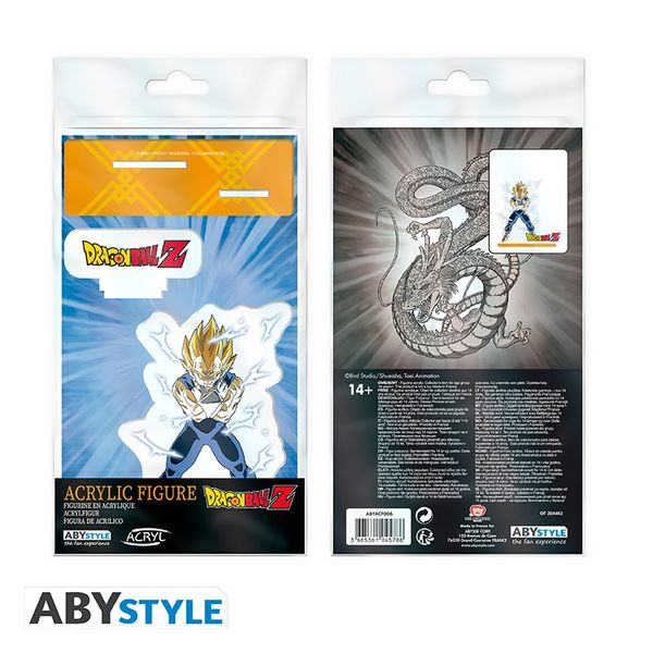 Figure Majin Vegeta  SSJ Dragon Ball Z Acrylic