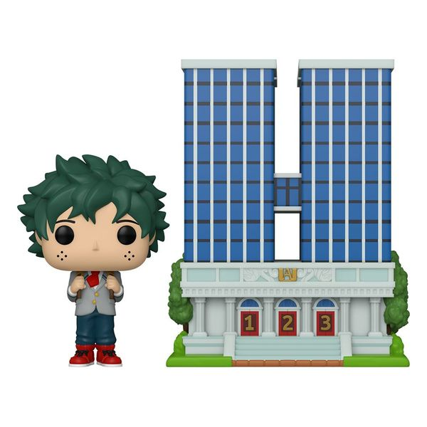 Funko Izuku Midoriya y U.A. High School Super Sized My Hero Academia POP! Town 04