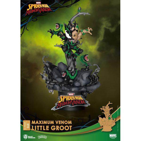 Figura Little Groot Marvel Comics Maximum Venom D-Stage