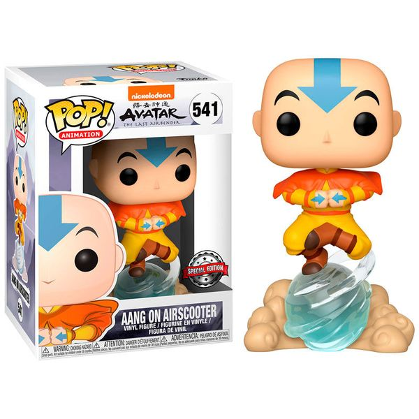 Funko Aang On Airscooter Avatar The Last Airbender POP! Animation 541