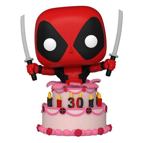 Deadpool In Cake 30th Anniversary Funko Marvel Comics POP! 776