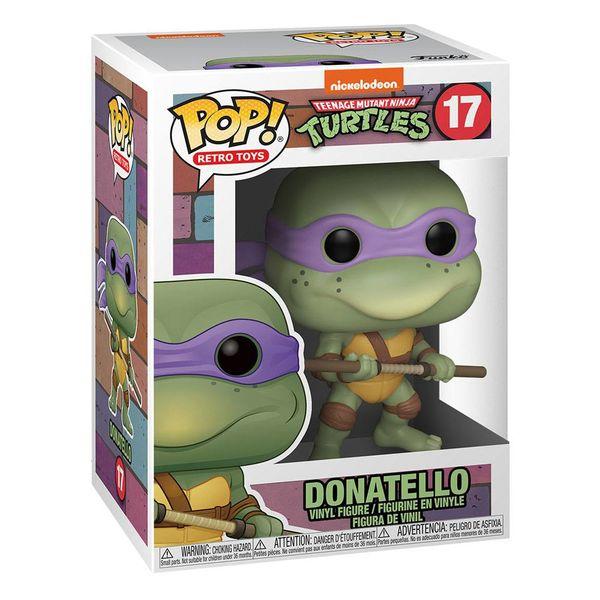 Funko Donatello Tortugas Ninja POP RETRO TOYS 17