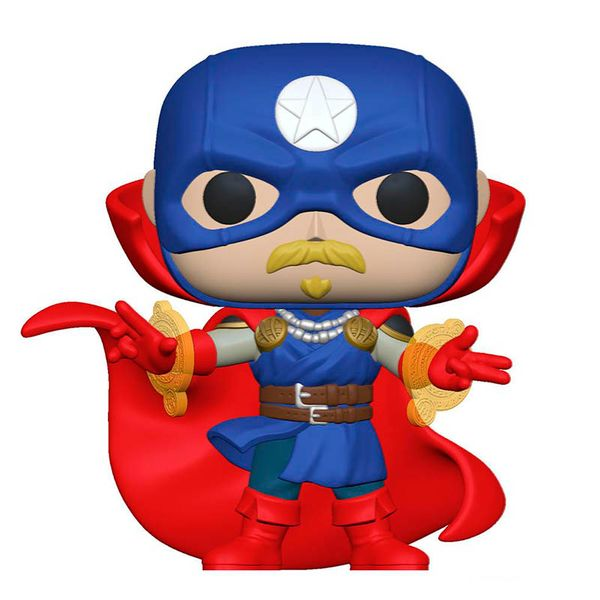 Funko Soldier Supreme Marvel Infinity Warps POP! 858