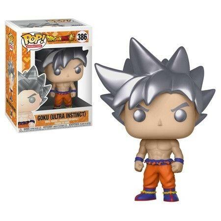 Funko Son Goku Ultra Instinct Dragon Ball Super POP! Animation 386