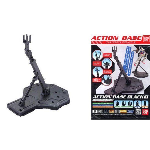 Base Soporte Negra Compatible con Gundam