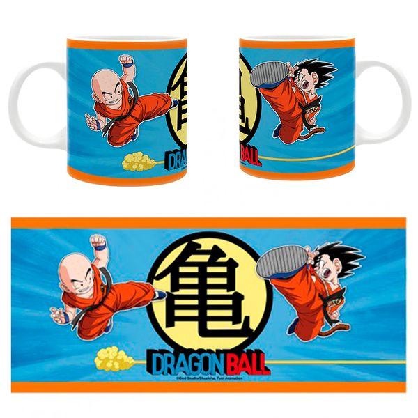 Taza Goku & Krilin Dragon Ball