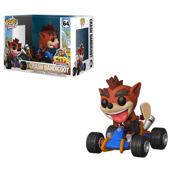 Funko Crash Bandicoot Crash Team Racing POP!