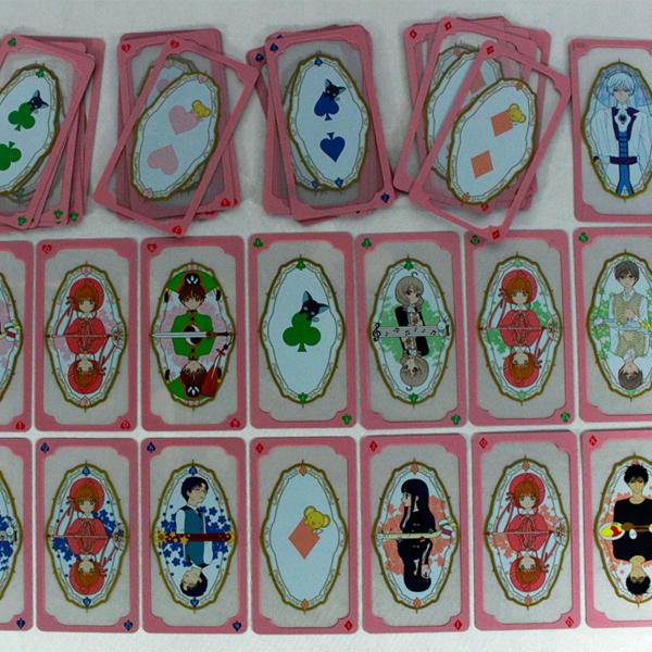 Card Captor Sakura Clear Card Poker Deck Kokuro