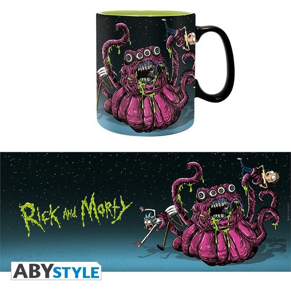Taza Monster Rick y Morty