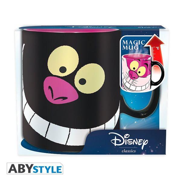 Taza Térmica Gato de Cheshire Alicia en el País de las Maravillas Disney