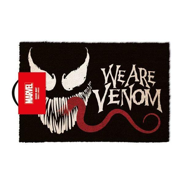 Felpudo We Are Venom Marvel Comics