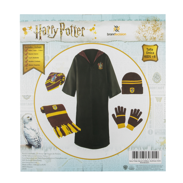 Caja Regalo Uniforme Niño Gryffindor Harry Potter