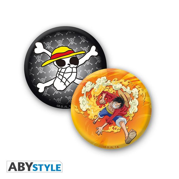 Taza, Llavero y Chapas New World One Piece