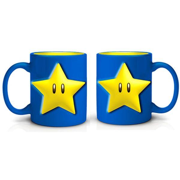 Taza Estrella Super Mario Bros