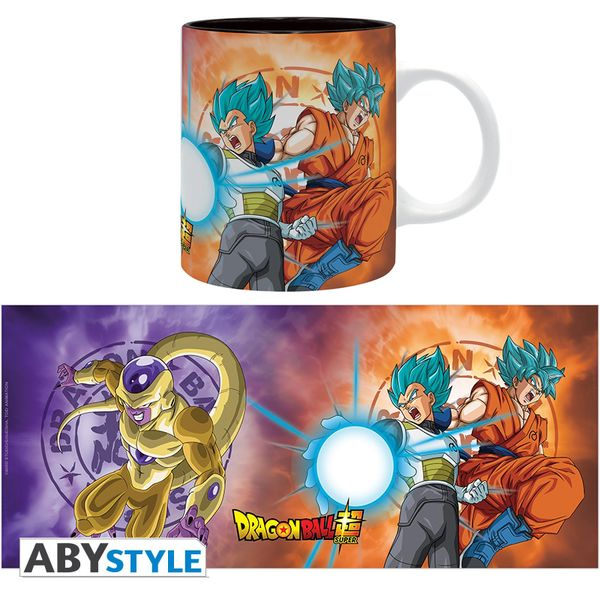 Taza Saiyans VS Freezer Dragon Ball Super