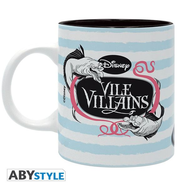 Taza Ursula Disney Villanas