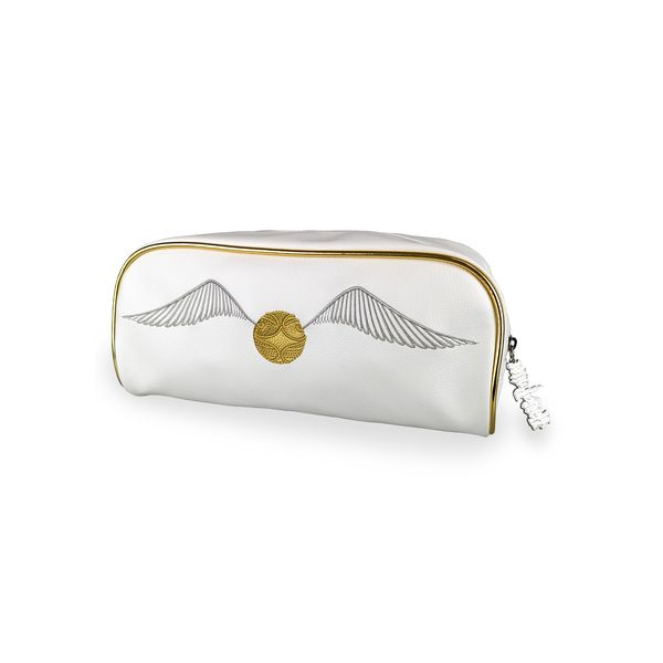 Golden Snitch Harry Potter Wash Bag Zip Pull
