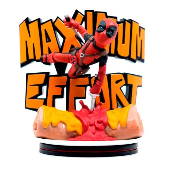 Q-Fig Deadpool Maximum Effort Marvel Diorama Q-Fig Max